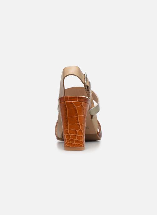 Sandalen Perlato 11798 braun ansicht von rechts