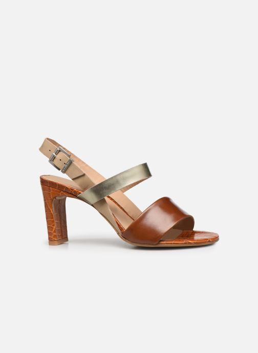 Sandalen Perlato 11798 braun ansicht von hinten