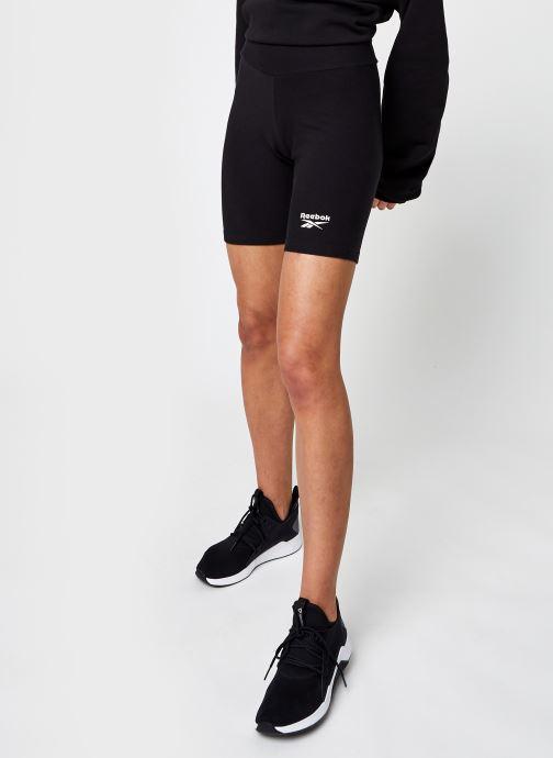 Vêtements Reebok Cl F Legging Shorts Noir vue détail/paire