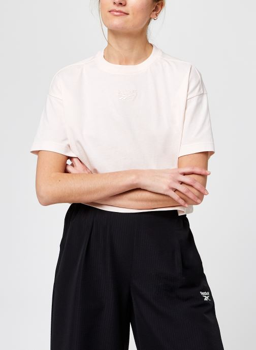 Kleding Accessoires Cropped Small Logo Tee