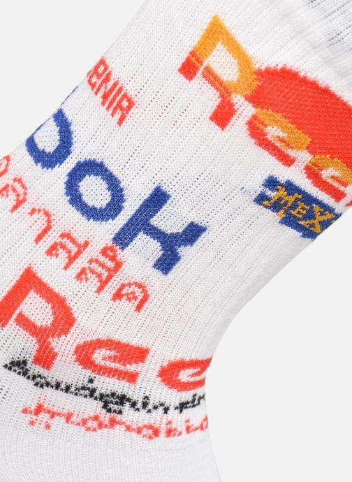 Calze e collant Reebok Cl Travel Sock Bianco modello indossato