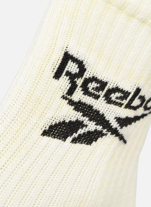 Calze e collant Reebok Cl Summer Retreat Sock Bianco modello indossato