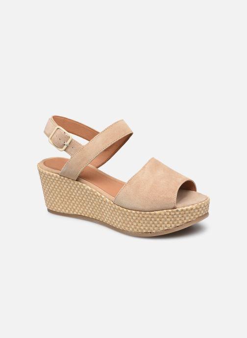 Sandaler Kvinder Sandales Compensees Suede