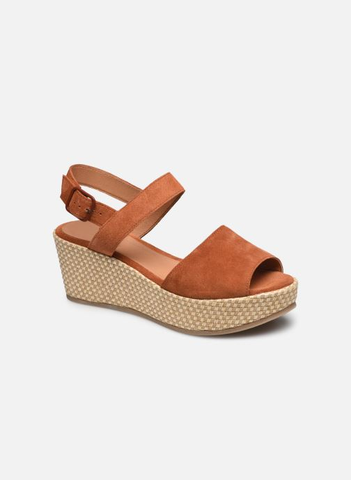 Sandalen Dames Sandales Compensees Suede