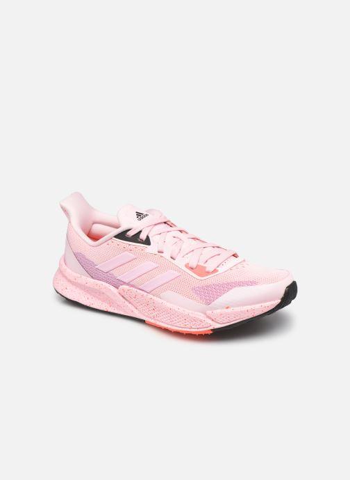 Chaussures de sport adidas performance X9000L2 W Rose vue détail/paire
