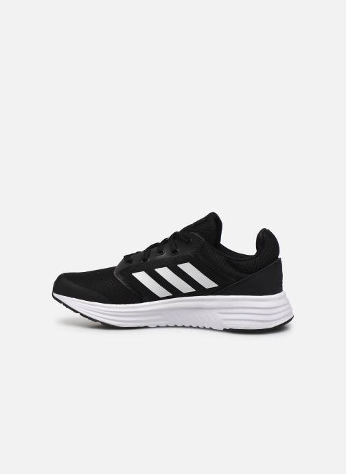 Chaussures de sport adidas performance Galaxy 5 W Noir vue face