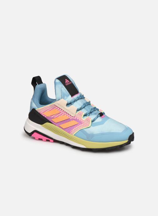 Chaussures de sport adidas performance Terrex Trailmaker W Bleu vue détail/paire