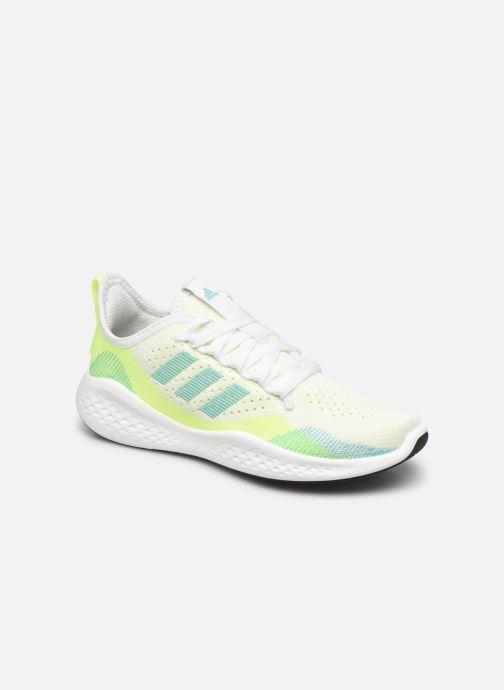 Chaussures de sport adidas performance Fluidflow 2.0 W Blanc vue détail/paire