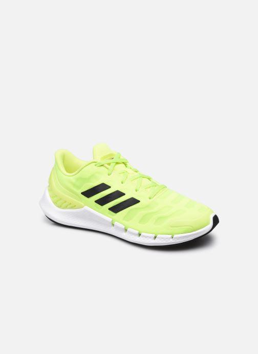 Chaussures de sport adidas performance Climacool Ventania M Jaune vue détail/paire