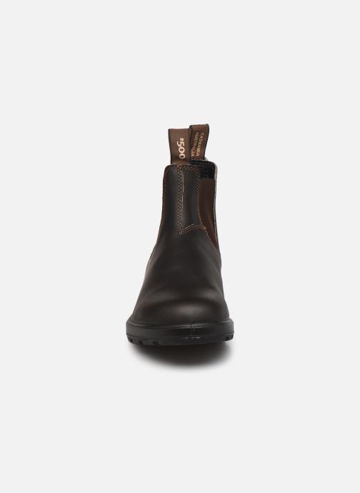 Stiefeletten & Boots Blundstone 500 M braun schuhe getragen