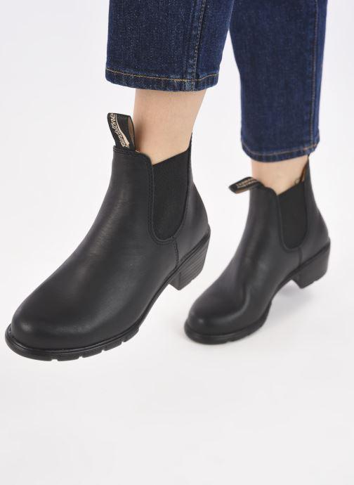 Stiefeletten & Boots Blundstone 1671 W schwarz ansicht von unten / tasche getragen