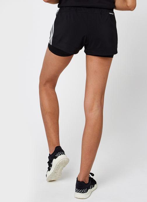 Vêtements adidas performance Pacer 3S 2 In 1 Noir vue portées chaussures
