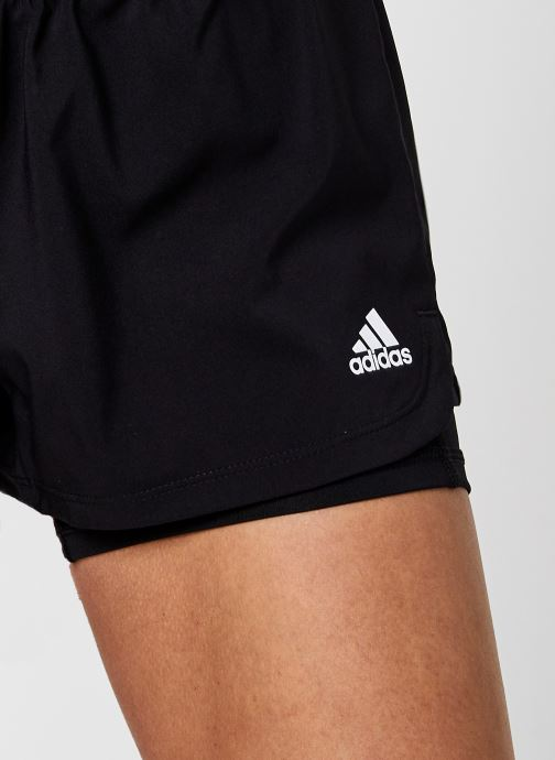 Vêtements adidas performance Pacer 3S 2 In 1 Noir vue face