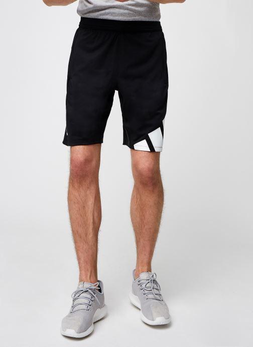 Vêtements adidas performance 4K 3 Bar Short Noir vue détail/paire