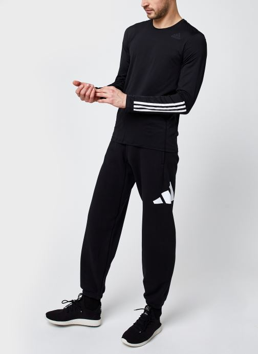 Vêtements adidas performance M Fi Pant 3B Noir vue bas / vue portée sac