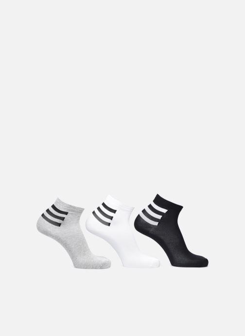 Chaussettes et collants adidas performance 3S Ankle 3Pp Blanc vue détail/paire