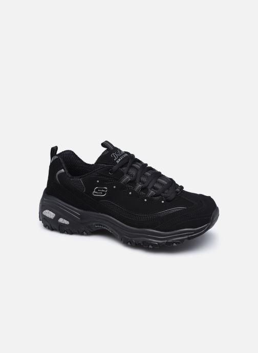 Sneaker Skechers D'Lites Biggest Fan N schwarz detaillierte ansicht/modell