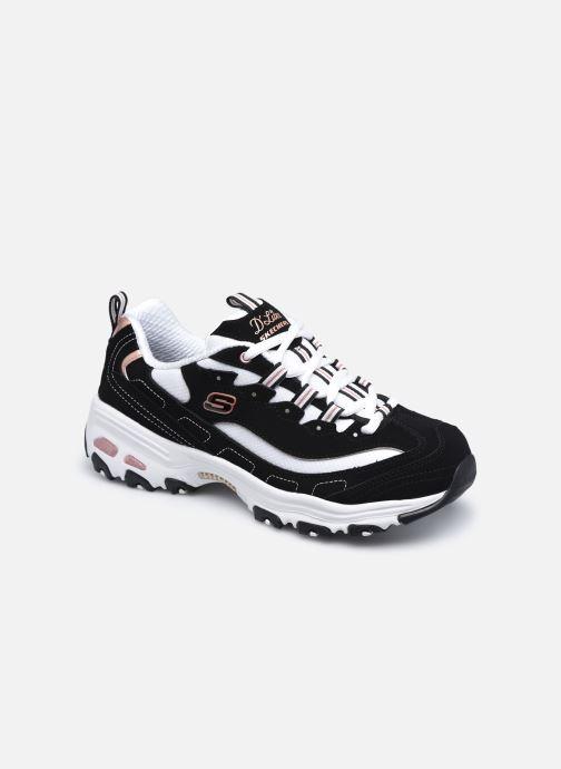 Sneaker Skechers D'LITES DEVOTED FAN schwarz detaillierte ansicht/modell