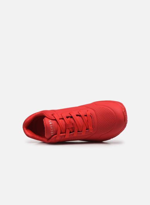 Baskets Skechers UNO STAND ON AIR N Rouge vue gauche