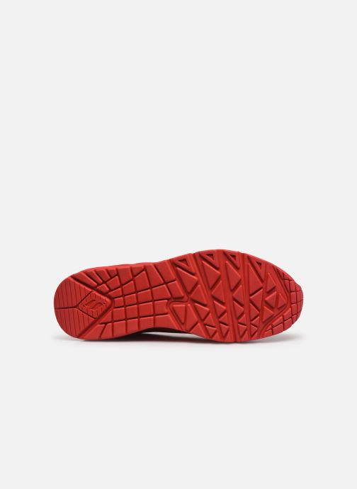Baskets Skechers UNO STAND ON AIR N Rouge vue haut