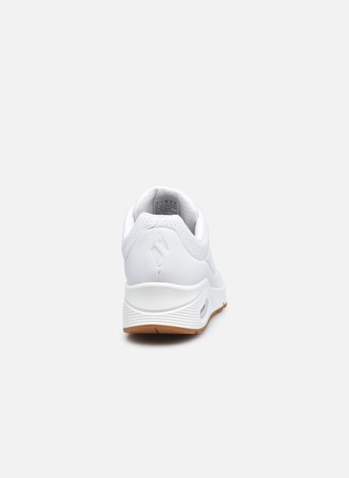 Baskets Skechers UNO STAND ON AIR N Blanc vue droite