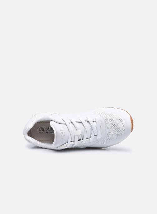 Baskets Skechers UNO STAND ON AIR N Blanc vue gauche