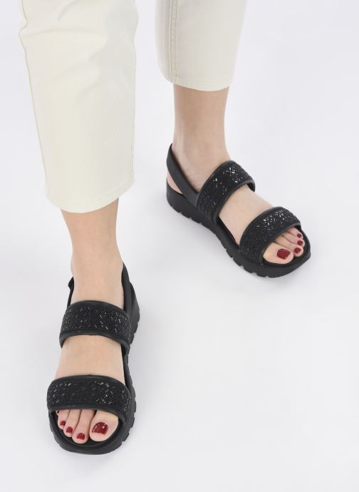 Sandalias Skechers FOOTSTEPS GLAM PARTY Negro vista de abajo
