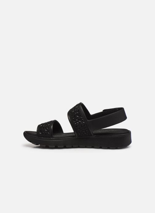 Sandali e scarpe aperte Skechers FOOTSTEPS GLAM PARTY Nero immagine frontale