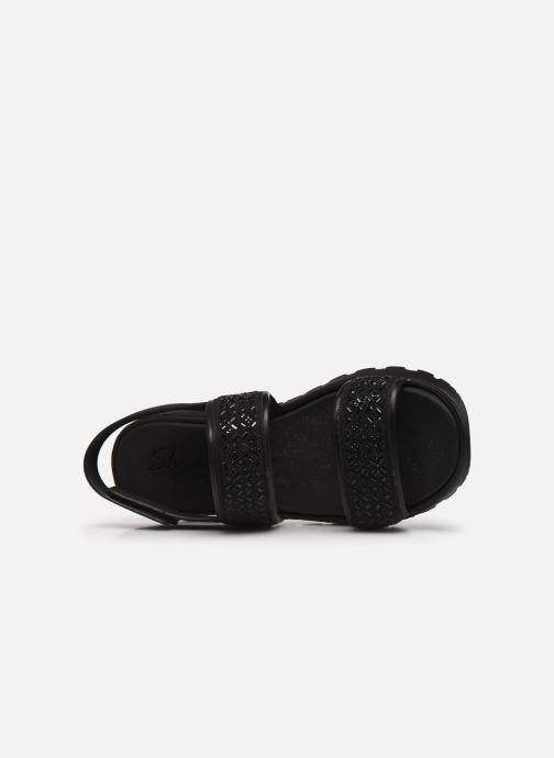 Sandalias Skechers FOOTSTEPS GLAM PARTY Negro vista lateral izquierda