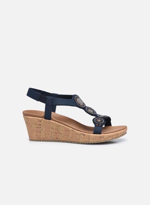 Sandali e scarpe aperte Skechers BEVERLEE DATE GLAM Azzurro immagine posteriore