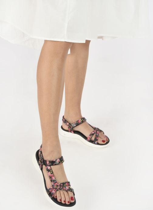 Sandali e scarpe aperte Skechers ON-THE-GO 600 FLEUR Nero immagine dal basso