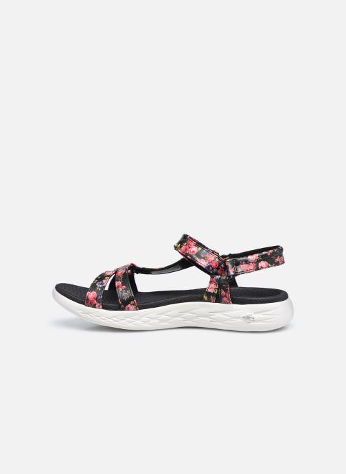 Sandali e scarpe aperte Skechers ON-THE-GO 600 FLEUR Nero immagine frontale