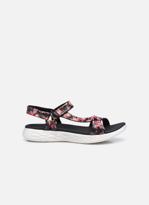 Sandali e scarpe aperte Skechers ON-THE-GO 600 FLEUR Nero immagine posteriore