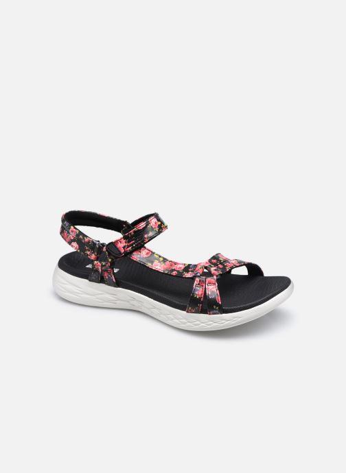 Sandali e scarpe aperte Skechers ON-THE-GO 600 FLEUR Nero vedi dettaglio/paio