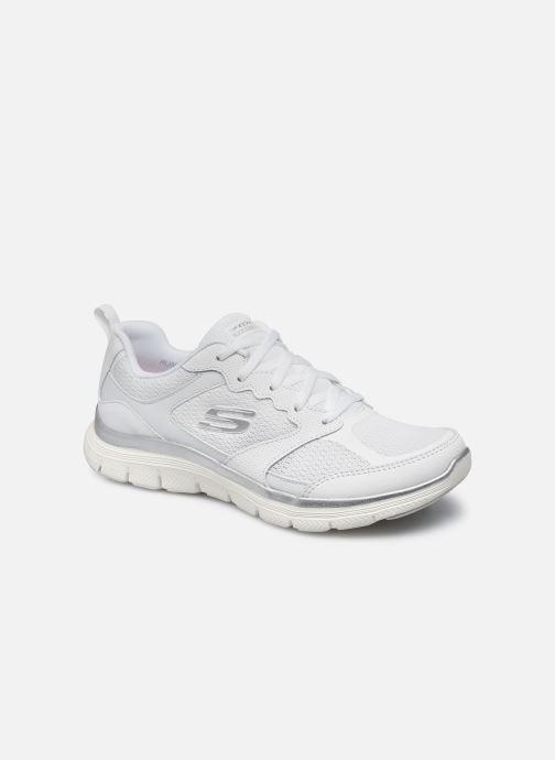 Zapatillas de deporte Skechers FLEX APPEAL 4.0 Blanco vista de detalle / par