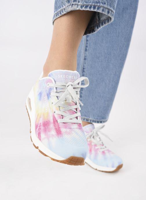 Sneaker Skechers UNO N mehrfarbig ansicht von unten / tasche getragen