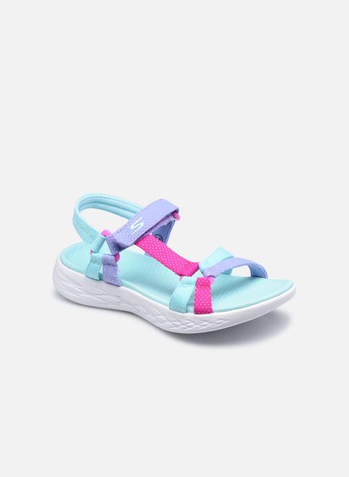 Sandalias Skechers On-The-Go 600 N Azul vista de detalle / par