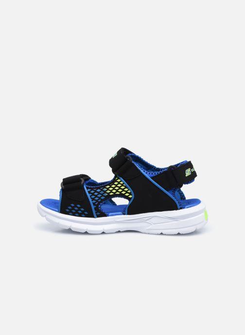 Sandalen Skechers E-II Sandal schwarz ansicht von vorne