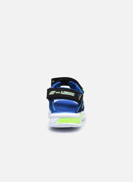 Sandalen Skechers E-II Sandal schwarz ansicht von rechts