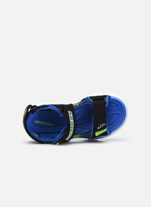 Sandalen Skechers E-II Sandal schwarz ansicht von links
