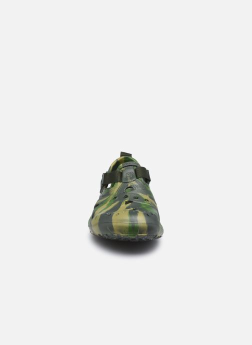 Sandalias Skechers Koolers Verde vista del modelo