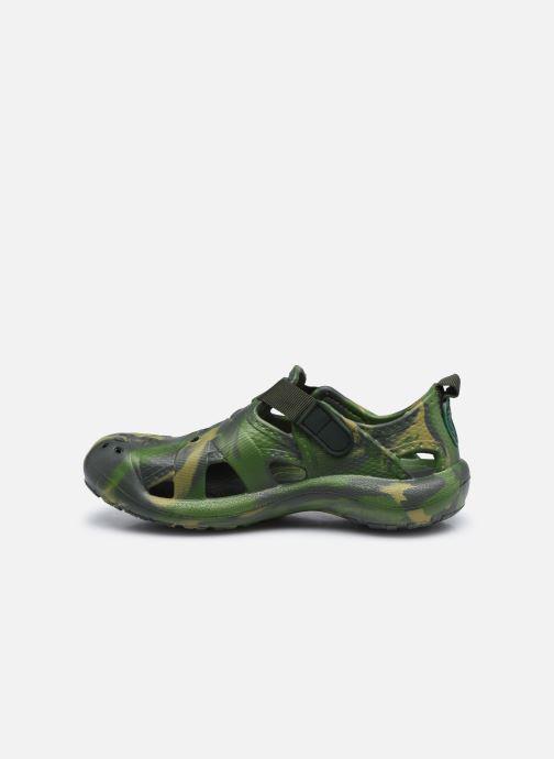 Sandalias Skechers Koolers Verde vista de frente