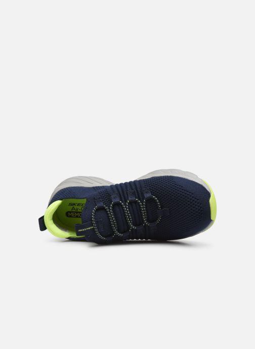 Sneaker Skechers Elite Rush blau ansicht von links
