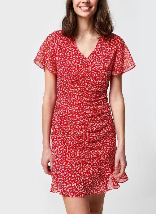 Vêtements School Rag Romea Red Rouge vue détail/paire