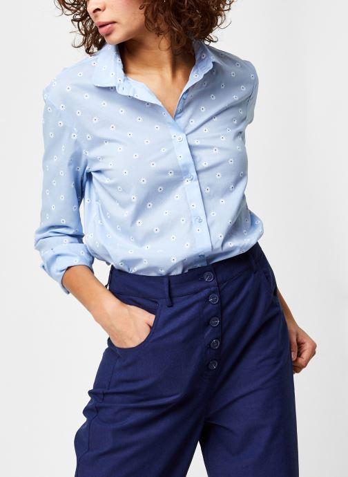 Vêtements School Rag Calia Flowers Bleu vue détail/paire