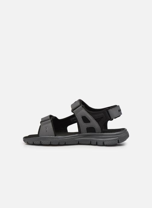 Sandalen Skechers FLEX ADVANTAGE S UPWELL grau ansicht von vorne
