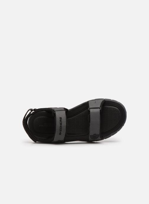 Sandalen Skechers FLEX ADVANTAGE S UPWELL grau ansicht von links
