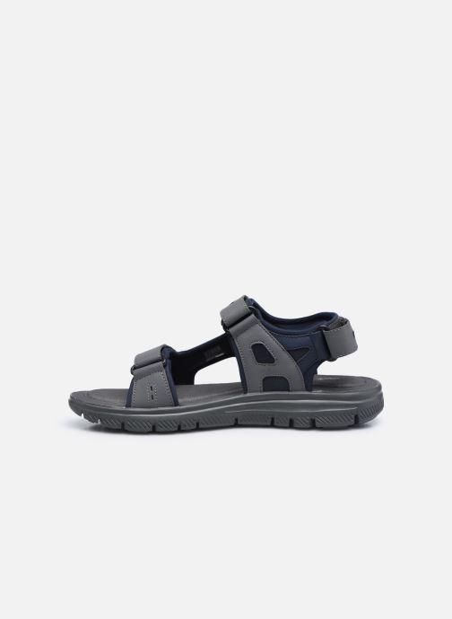 Sandalen Skechers FLEX ADVANTAGE S UPWELL schwarz ansicht von vorne