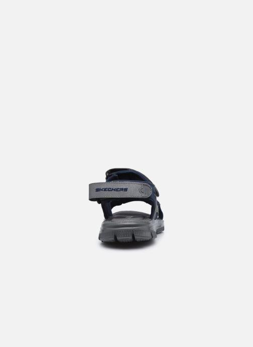Sandalen Skechers FLEX ADVANTAGE S UPWELL schwarz ansicht von rechts