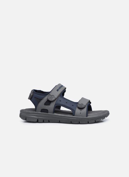 Sandalen Skechers FLEX ADVANTAGE S UPWELL schwarz ansicht von hinten